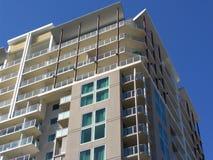 Apartment Block. Modern Apartment Block royalty free stock images