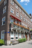 Apartment Block in Amsterdam Stock Image