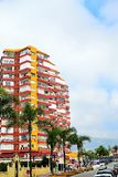 an apartment block in Benalmadena, Costa del Sol, Spain Royalty Free Stock Photography
