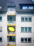 Apartment block in Berlin Germany stock photos