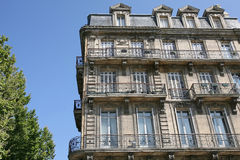 Apartment block in Bordeaux Stock Images