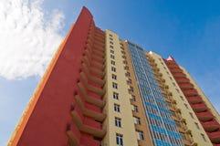 Apartment block building Stock Image