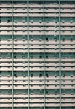 Densely packed high-rise apartment block building in Havana, Cuba.  stock images