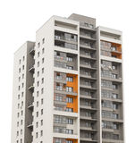 Apartment block building Royalty Free Stock Images