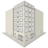 Apartment Block Design Royalty Free Stock Images