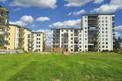 Apartment Block Stock Image