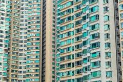 Apartment block in Hong Kong Stock Photography