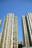 Apartment block in Hong Kong Stock Image