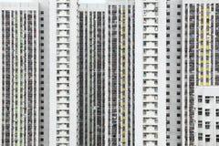 Apartment block in Hong Kong Stock Photos