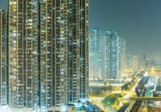 Apartment block in Hong Kong Royalty Free Stock Photography