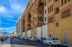 Apartment block in San Pedro Royalty Free Stock Photography