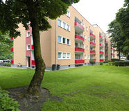 Apartment blocks Stock Photos