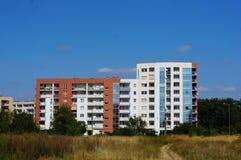 Apartment blocks Stock Image
