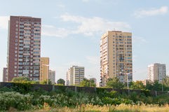 Apartment blocks Royalty Free Stock Image