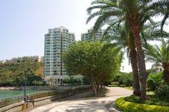 Apartment blocks in Lantau Island Royalty Free Stock Images