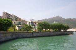 Apartment blocks in Lantau Island Stock Photography