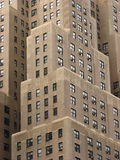 Apartment blocks in Manhattan. With land being so expensive in Manhattan, buildings generally go up and up Royalty Free Stock Photos
