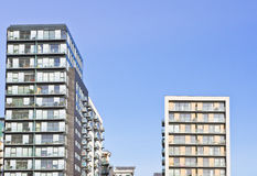 Apartment blocks Royalty Free Stock Photography