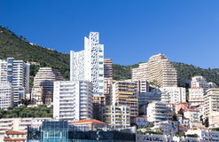 Apartment blocks,  Monaco Stock Image