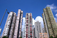 Apartment blocks in Mongkok, Hong Kong Stock Image