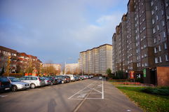 Apartment blocks Royalty Free Stock Images
