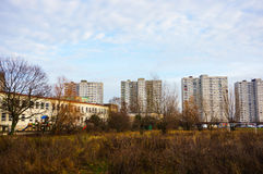 Apartment blocks Stock Photography