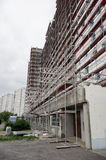 Apartment blocks renovation Royalty Free Stock Photo