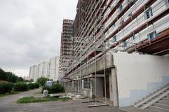 Apartment blocks renovation Royalty Free Stock Photography