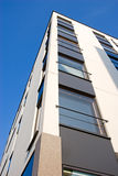 Apartment building. View of the modern apartment building corner Stock Photography
