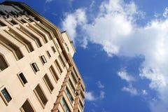 Apartment Building. A view of an apartment building along Imbi road, Kuala Lumpur, Malaysia Stock Photo