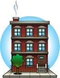 Apartment Building royalty free illustration