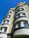 Apartment building. The modern  apartment building. Ekaterinburg, Russia Stock Photography