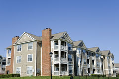Apartment building Royalty Free Stock Image