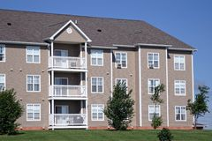 Apartment Building 2 Stock Photos