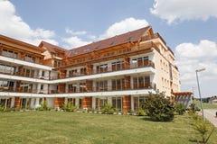 Apartment building. At Vivat thermal SPA Royalty Free Stock Photos