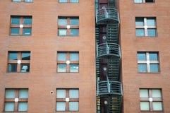 Apartment building. In santander spain Royalty Free Stock Images