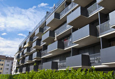 Apartment building. Modern apartment building in Stuttgart, Germany Stock Photography