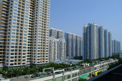 Apartment building. Residential building in Hongkong , China Stock Images