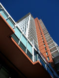 Apartment Building. Photograph of a high rise modern apartment building Stock Photography