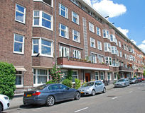 Apartment Building in Amsterdam Royalty Free Stock Photography