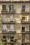 Apartment Building, Barcelona Royalty Free Stock Image