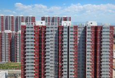 Apartment,Building,Beijing,China Royalty Free Stock Image