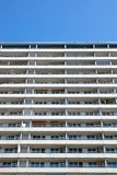 Apartment building in Berlin with a blue sky Stock Images