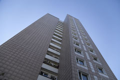 Apartment building in Berlin Marzahn Royalty Free Stock Image