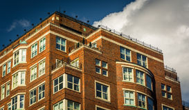 Apartment building in Boston, Massachusetts. Stock Images