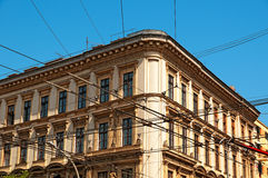 Apartment building in Budapest - Hungary Stock Image