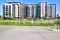 Apartment building, Canada Royalty Free Stock Photography