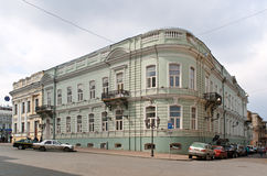Apartment building in the center of Odessa Royalty Free Stock Photos