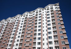 Apartment Building In City Royalty Free Stock Photos