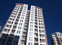 Apartment Building In City Royalty Free Stock Photography